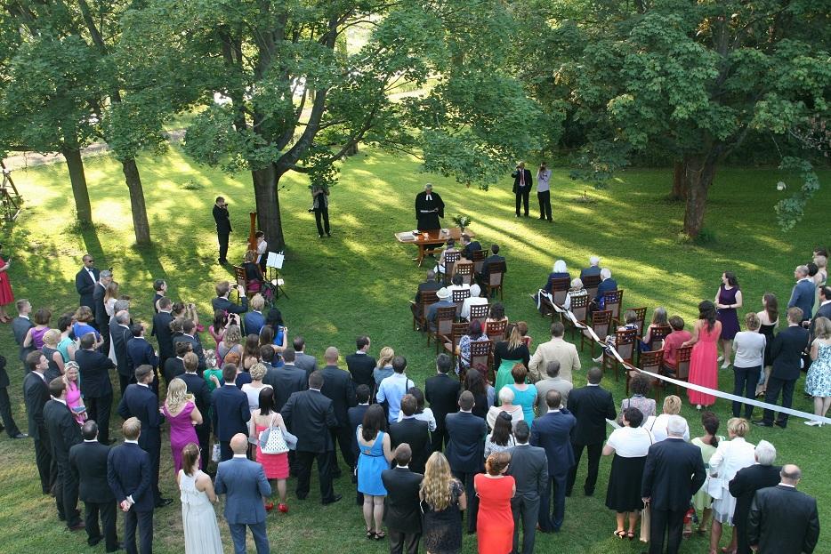 Ślub plenerowy w Pomiechówku pod Warszawą