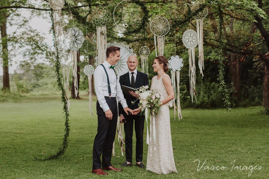 ślub w plenerze pod Warszawą
